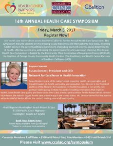 16th Annual Health Care Symposium- CCALAC, COCCC, Health Center Partners